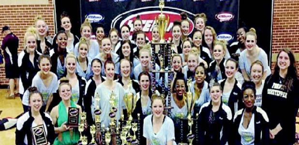 FORNEY HIGHSTEPPERS Received national championship honors at HTE Dance National Championships.